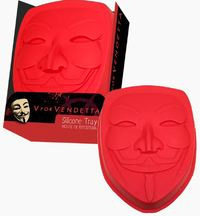V for Vendetta - Mask Silicone Baking Tray