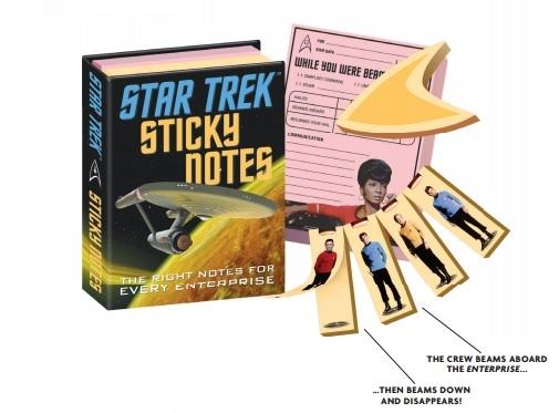 Star Trek Sticky Notes image