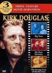 Kirk Douglas Triple Feature (big Trees/my Dear Secretary/ Strange Love Of Martha Ivers) on DVD