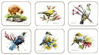 Native Birds Coasters (Set of 6)
