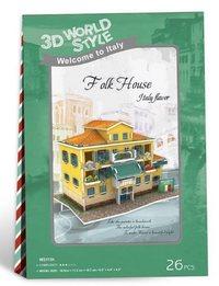 3D World Style -Italian Folk House