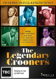 The Legendary Crooners: Frank, Dean, Bing, Nat And Perry DVD