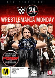 WWE: WWE 24: Wrestlemania Monday DVD