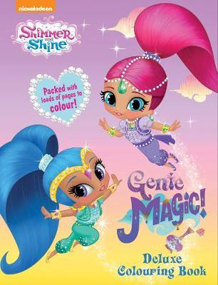 Shimmer and Shine Genie Magic Deluxe Colouring Book image