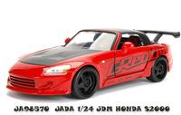 Jada 1/24 Jdm Honda S2000 (Red) - Diecast Model