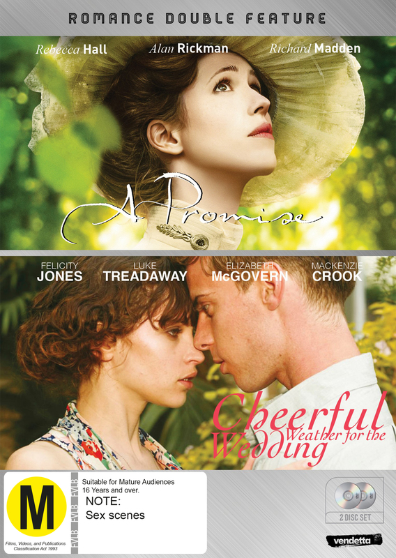 Romance Double: Cheerful Weather for the Wedding & A Promise on DVD