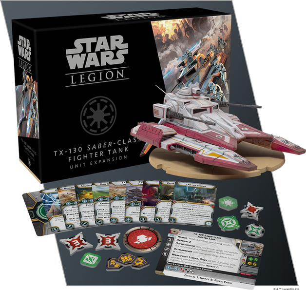 Star Wars Legion: TX-130 Saber-class Fighter Tank Unit Expansion