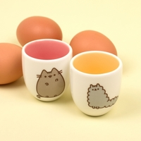 Pusheen: Egg Cups Set of 2 (Stormy & Pusheen)