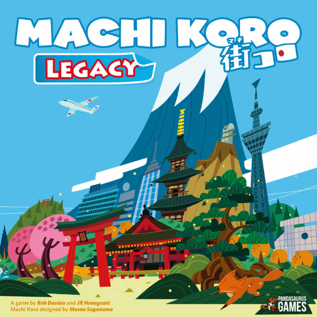 Machi Koro: Legacy - Card Game