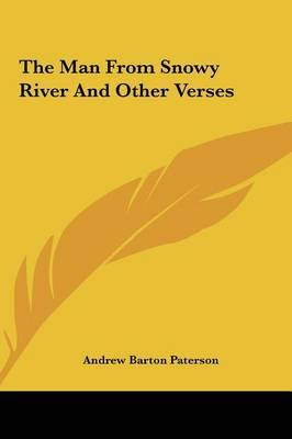 The Man from Snowy River and Other Verses by Andrew Barton Paterson image
