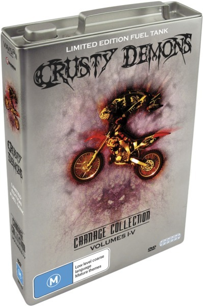 Crusty Demons Carnage Collection (Fuel Tank) Vol 1 on DVD