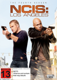 NCIS Los Angeles - The Fourth Season on DVD