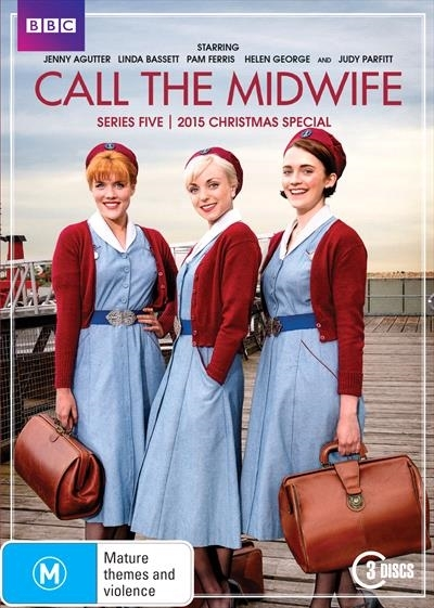Call The Midwife: Series Five + 2015 Christmas Special on DVD