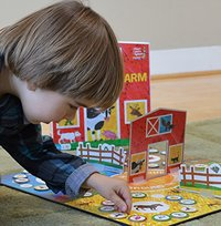 The World of Eric Carle: Around the Farm - Board Game image