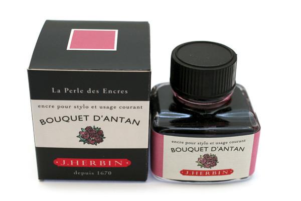 J Herbin: Fountain Pen Ink - Bouquet d'Antan (30ml)