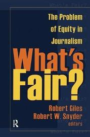 What's Fair? by Geoff Dench image