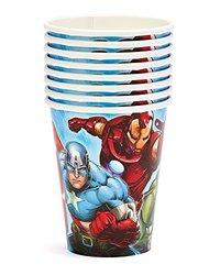Marvel Avengers Cups (Pack of 8)
