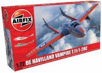 Airfix De Havilland Vampire T.11 /J-28C 1:72 - Model Kit