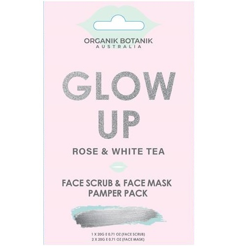 Love & Hope: Glow Up Pamper Pack (Rose & White Tea)