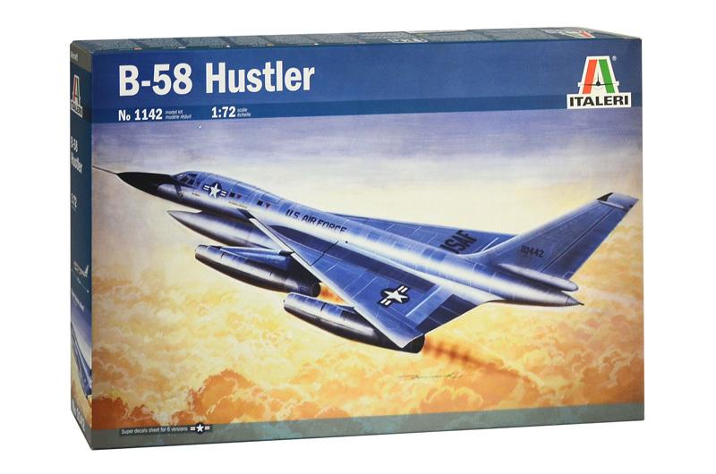 Italeri 1/72 B-58 Hustler - Model Kit image