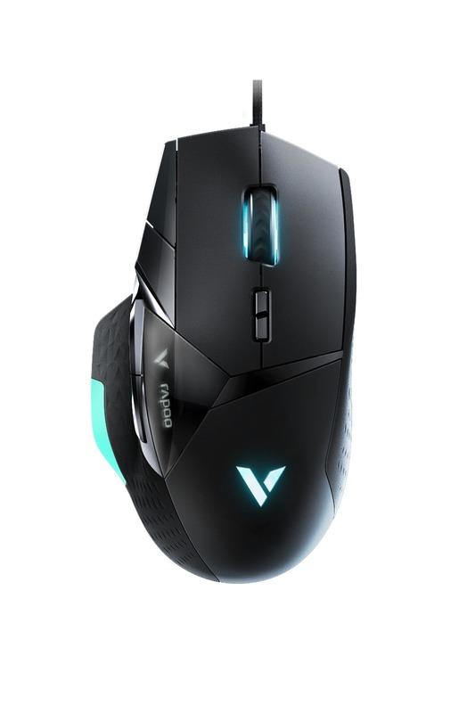Rapoo VT900 Optical Gaming Mouse - Black