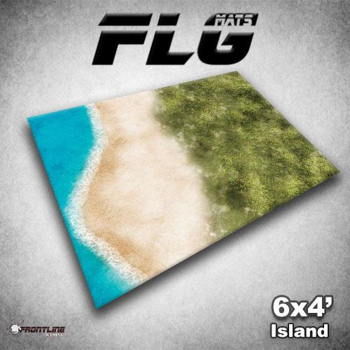 FLG Island Neoprene Gaming Mat (6x4)