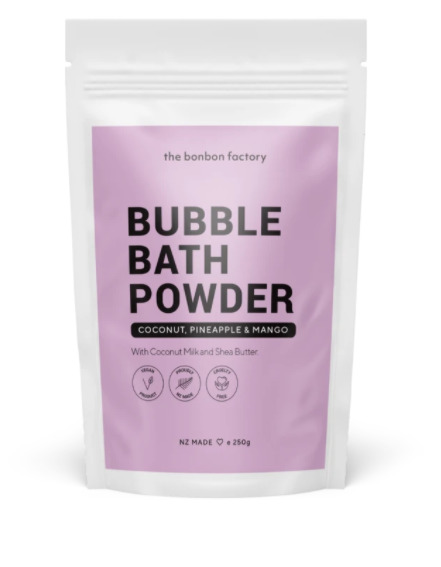 The Bonbon Factory: Bubble Bath - Coconut, Pineapple, & Mango