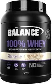 Balance 100% Whey Protein Powder - Vanilla (1kg)