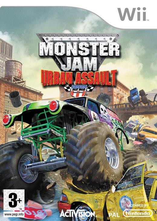 Monster Jam: Urban Assault for Nintendo Wii image