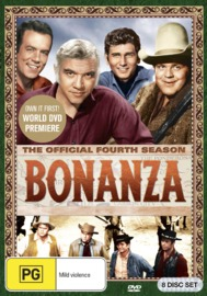 Bonanza - Season 4 on DVD