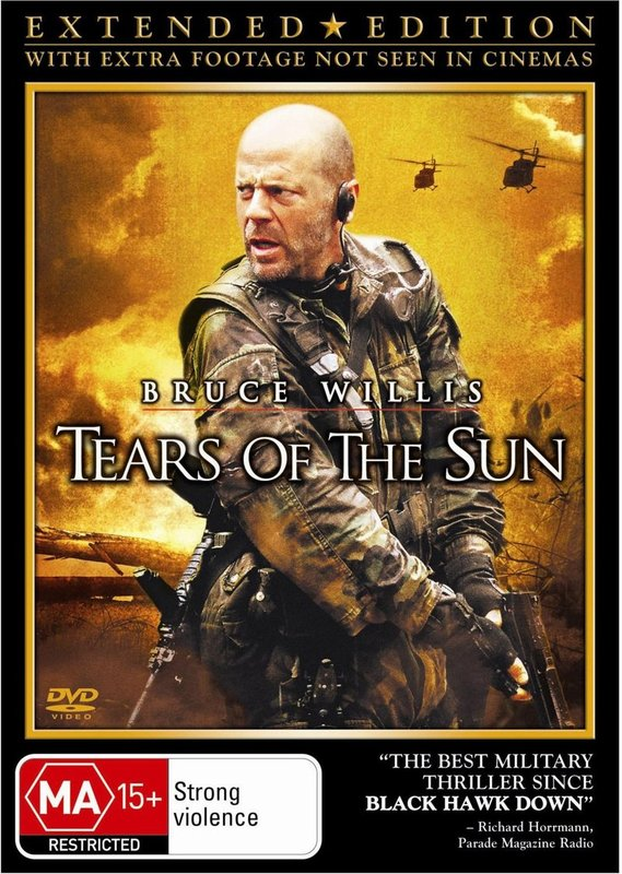 Tears Of The Sun - Extended Edition on DVD