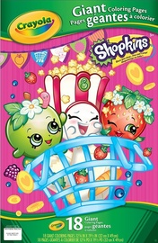 Crayola: Giant Colouring Pages – Shopkins