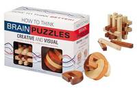 How to Think Creative and Visual Brain Puzzle Pack by Charles Phillips image