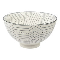 Etta Black and White Subo Large Bowl (13.5cm)