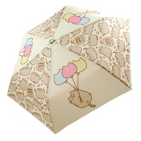 Pusheen the Cat: Balloons - Folding Umbrella