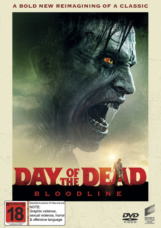 Day Of The Dead: Bloodline on DVD