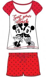 Ladies Minnie Mouse shortie Pyjamas image