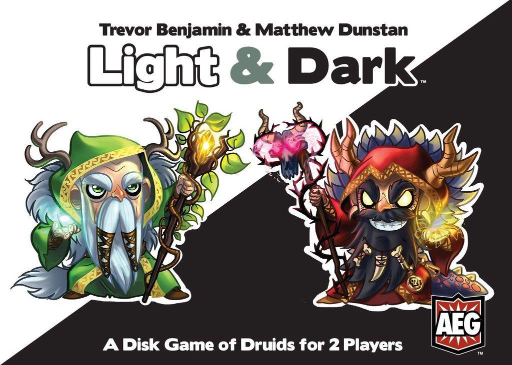 Light & Dark - A Disk Game of Druids image