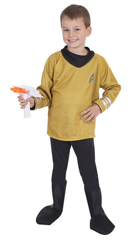 Star Trek: Captain Kirk - Deluxe Costume (Small)