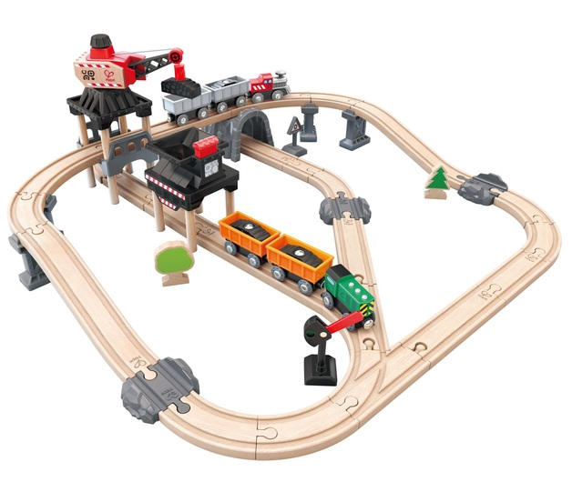 Hape: Mining Loader - Wooden Railway Set
