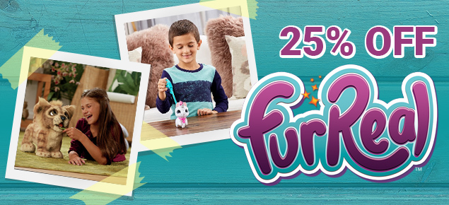 25% off FurReal!