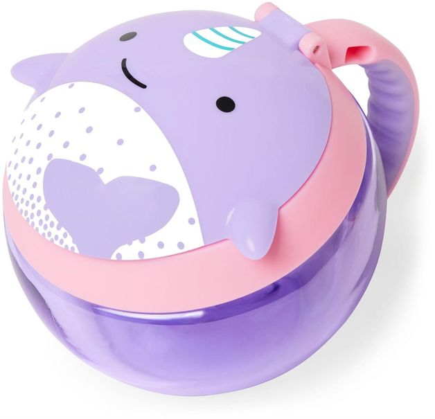 Skip Hop: Zoo Snack Cup - Narwhal