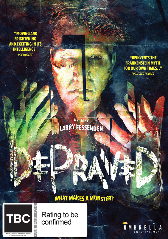 Depraved on DVD