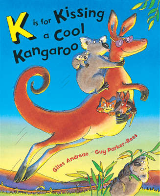 K is for Kissing a Cool Kangaroo by Giles Andreae image
