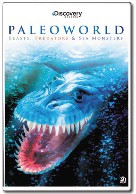 Paleoworld: Beasts, Predators & Sea Monsters (3 Disc Set) on DVD