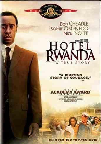 Hotel Rwanda on DVD