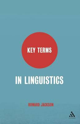 Key Terms in Linguistics by Howard Jackson image