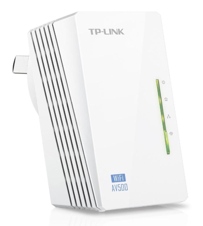 TP-Link 300Mbps AV500 WiFi Powerline Extender image