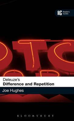 """Deleuze's """"Difference and Repetition"""" by Joe Hughes image"""