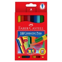 Faber-Castell Connector Pens: Felt Tip - Pack of 10
